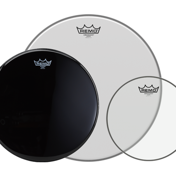used remo drum heads on stage services. Black Bedroom Furniture Sets. Home Design Ideas